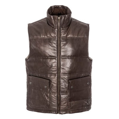 Woodland Leather Gillet