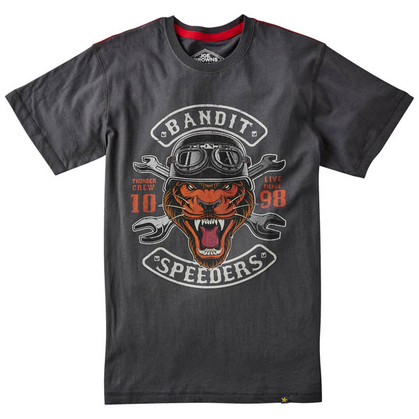 Joe Browns Bandit Speeders Tee Grey