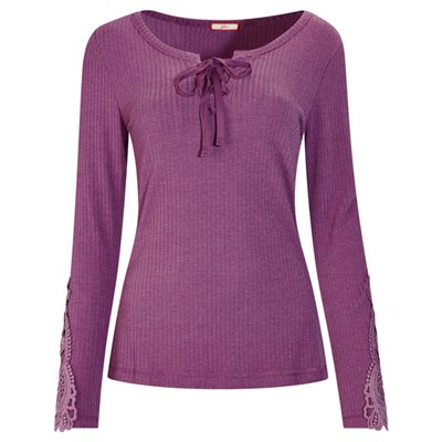 Joe Browns Lace Up Casual Top