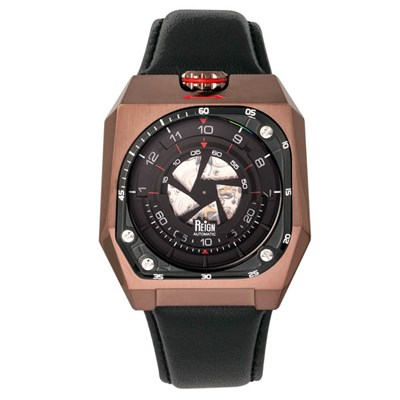 Reign Gents Asher Automatic Watch on Genuine Leather Strap