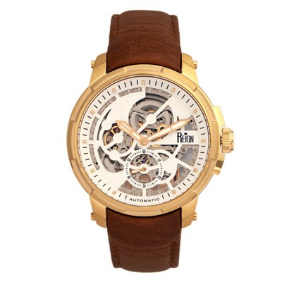 Reign Gents Matheson Automatic Watch with Genuine Leather Strap