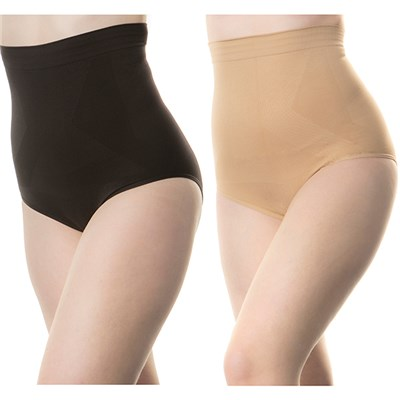 Styled By High Waist Super Control 2-Pack Knickers