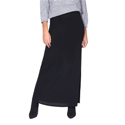 KRISP Maxi Skirt High Waist A Line Long Knit Stretch Bodycon Casual Boho