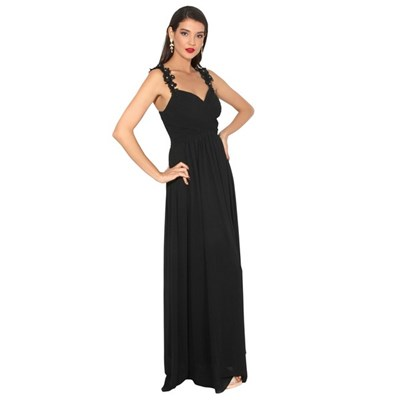 KRISP Maxi Dress Formal Evening Party Cocktail Lace Chiffon Gown Party