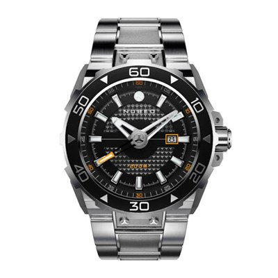 Nubeo Gent's Explorer Automatic Watch on Stainless Steel Bracelet