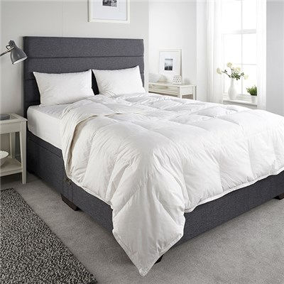 Downland Anti Allergy 13.5 Tog Duck Feather and Down Single Duvet