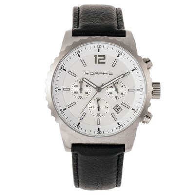 Morphic Gents M67 Series Watch with Genuine Leather Strap
