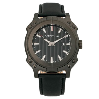 Morphic Gents M68 Series Watch with Genuine Leather Strap