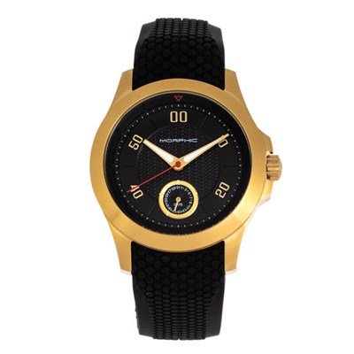 Morphic Gents M80 Series Watch with Silicone Strap