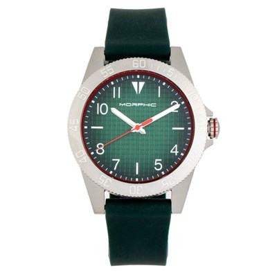 Morphic Gents M84 Series Watch on Silicone Strap