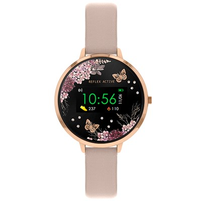 Reflex Active Ladies' Series 3 Smart Watch with PU Leather Strap