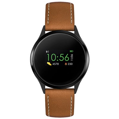 Reflex Active Series 4 Smart Watch with PU Leather Strap