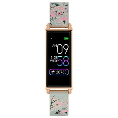 Reflex Active Ladies Series 2 Smart Watch with Printed PU Leather Strap