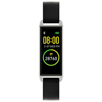 Reflex Active Series 2 Smart Watch with PU Leather Strap