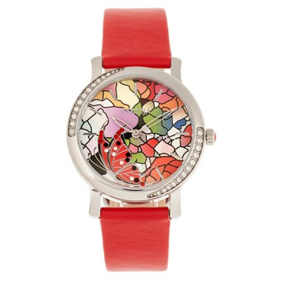 Bertha Ladies Vanessa Watch with Genuine Leather Strap
