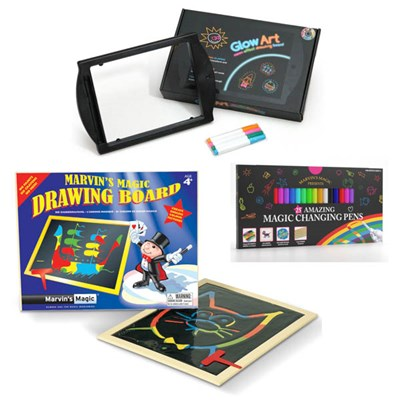 Magic Art and Crafts - Magic Pens, Drawing Board, Glowart
