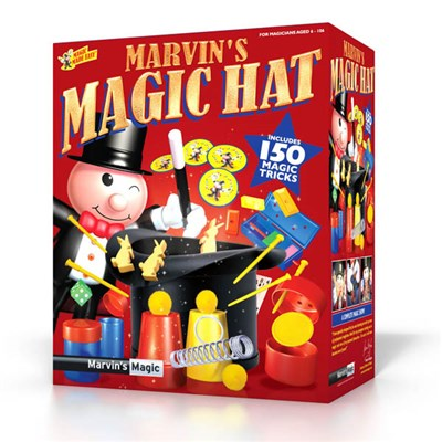 Marvins Magic Rabbit and Hat