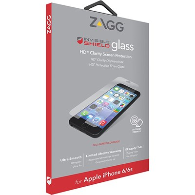 ZAGG Invisible Shield Glass Screen Protector for iPhone 6/6S/7/8/SE2