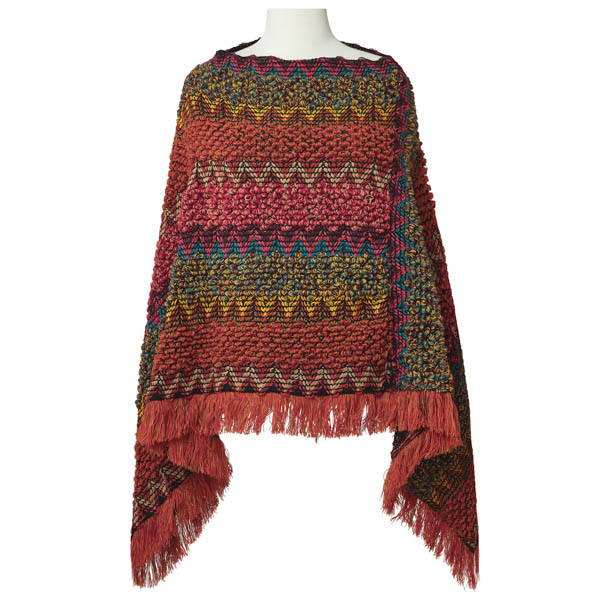 Joe Browns Spice Of Life Funky Knit Poncho Multi