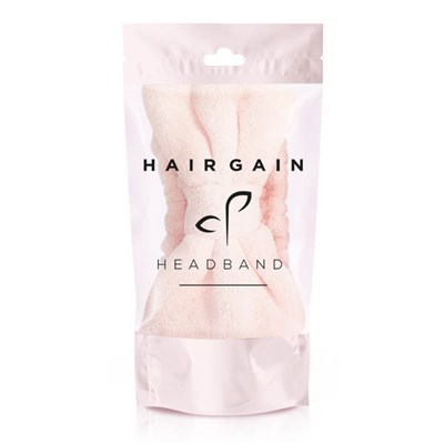 Hair Gain Pink Bow Luxury Headband
