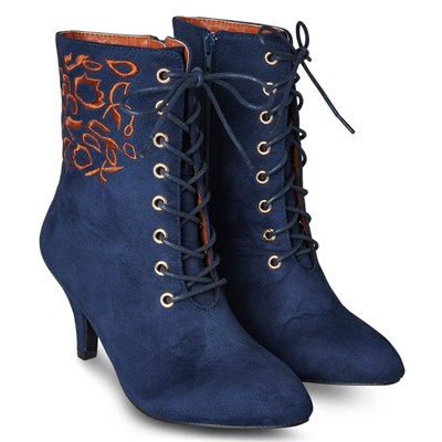 Joe Browns Perfect Day Embroidered Boots
