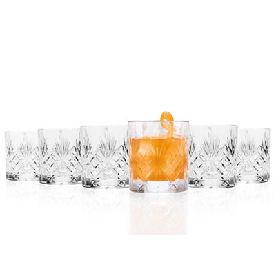 RCR Melodia Crystal Whisky Glasses (6 Pack)