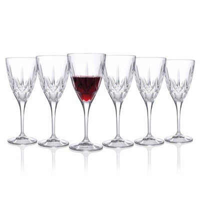 RCR Chic Crystal Wine Glasses (6 Pack)