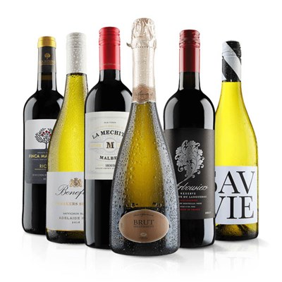 Virgin Wines Luxury Mixed Wine Six Pack