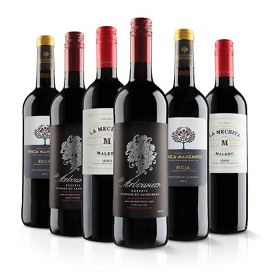 Virgin Wines Luxury Red Wine Six Pack