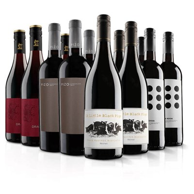Virgin Wines Must Have 12 Bottle Red Wine Selection