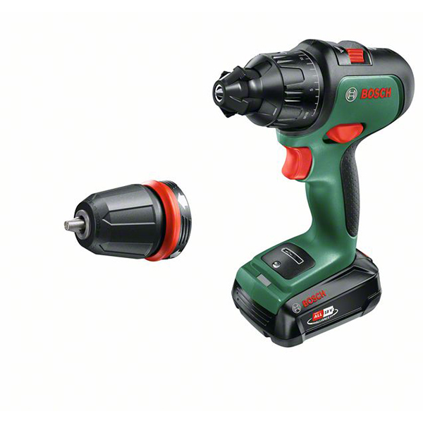 Bosch Advanced Impact 18v Drill with Battery and Charger No Colour