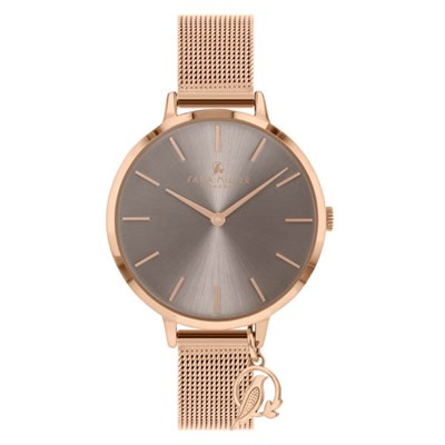 Sara Miller The Charm Collection Watch with Leather Strap
