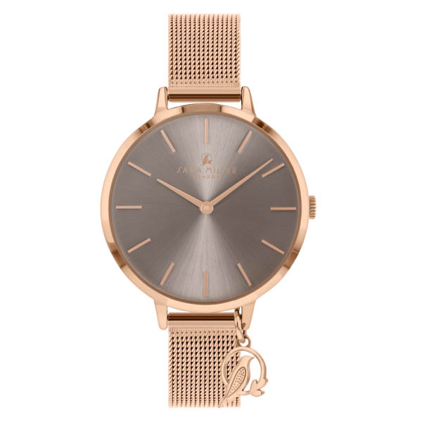 Image of Sara Miller The Charm Collection Watch with Leather Strap