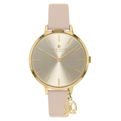 Sara Miller The Charm Collection Watch with Mesh Strap SA2036