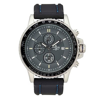 Bermuda Gents Seiko Watch with Silicone Strap and Extra Milanese Bracelet