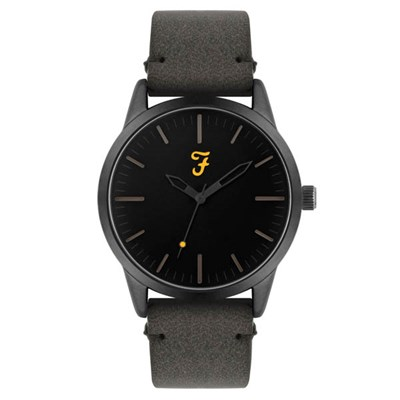 Farah Classic Watch with Suedette Strap
