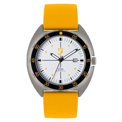 Farah Sports Watch with Silicone Strap
