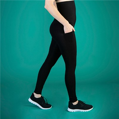 TLC Extra Strong Compression High Waist Leggings with Pockets - Short