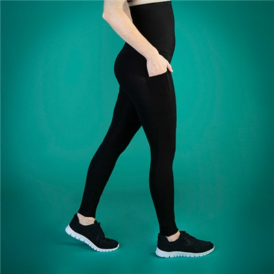 TLC Extra Strong Compression High Waist Leggings with Pockets - Regular