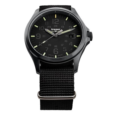 Traser Gents Swiss Made P67 Officer Pro Watch, Nato Strap