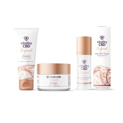 Vitality CBD Nourish Kit - Skin Cream and Face Mask