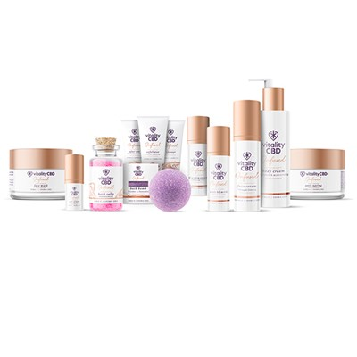 Vitality CBD Skincare Collection