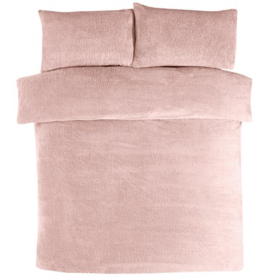 Teddy Fleece Double Duvet Set