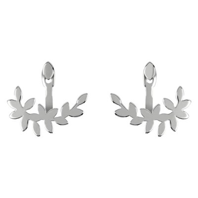 Sara Miller Leaf Reverse Earrings