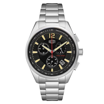 Duxot Gent's Ascensus Chronograph Watch on Stainless Steel Bracelet