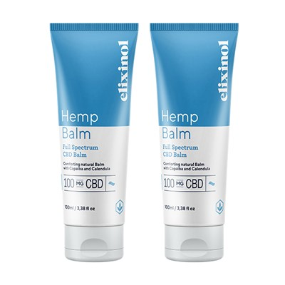 Elixinol Hemp Balm Twin Pack - 2 x 100ml