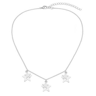 Kasara Layered Star Multi Charm Necklace