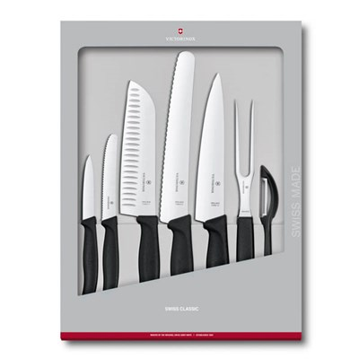 Victornox Swiss Classic Kitchen Knife Set - 7 Piece