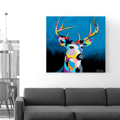 Steven Brown Glen McDeer 76 x 76cm Canvas
