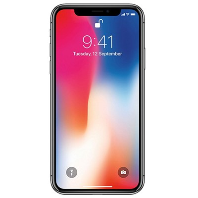 AzTech Refurbished Apple iPhone X 64GB Smartphone